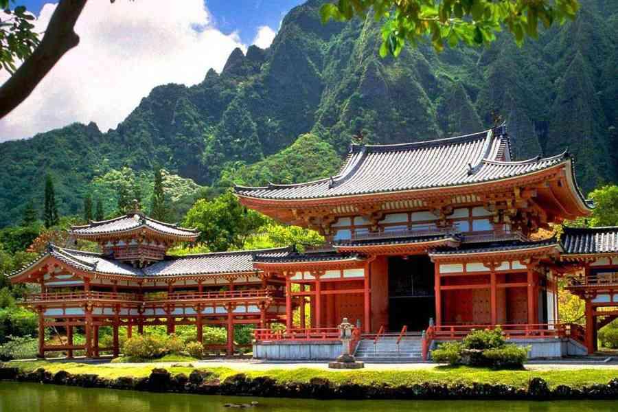 картинки япония китай архитектура