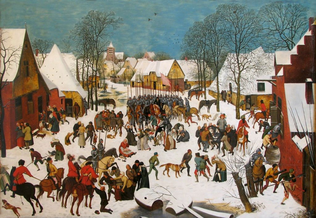 Брейгель, 1580-е.