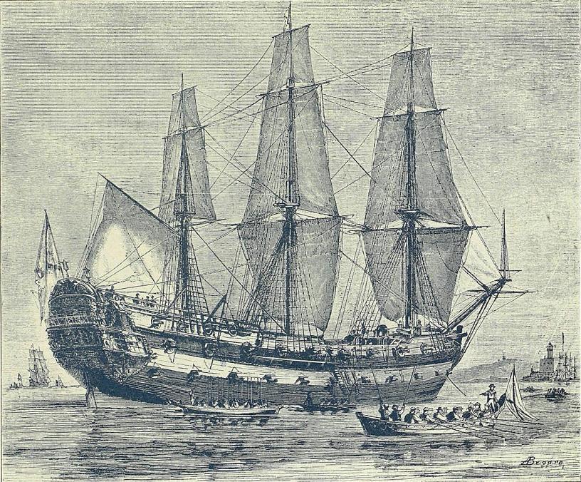 Несчастья, преследовавшие корабли с названием